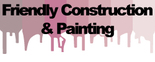 Friendly Construction & Painting Logo
