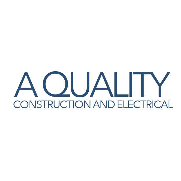 A Quality Construction and Electrical Logo