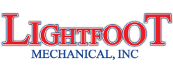 Lightfoot mechanical inc. logo