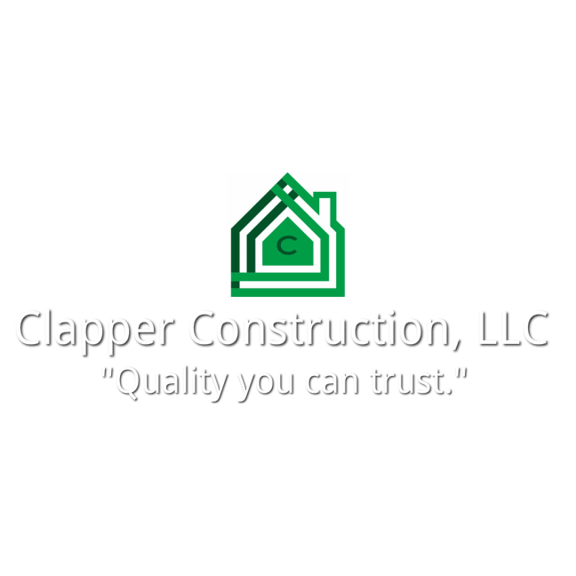 Clapper Construction Logo