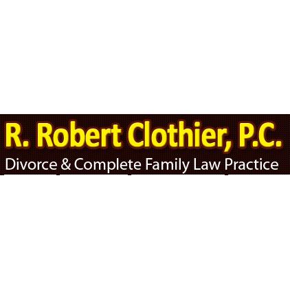 R. Robert Clothier, P.C. Logo