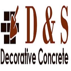 D & S Decorative Concrete Logo