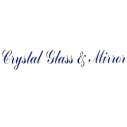 Crystal Glass & Mirror Logo