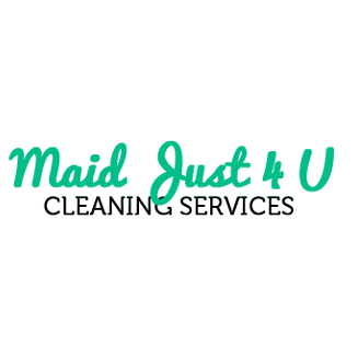 Maid Just 4 U Cleaning Service Logo