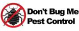 Don't Bug Me Pest Control Logo