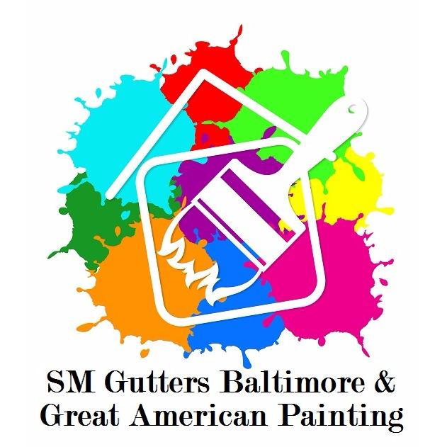 SM Gutters Baltimore & Great American Painting Logo