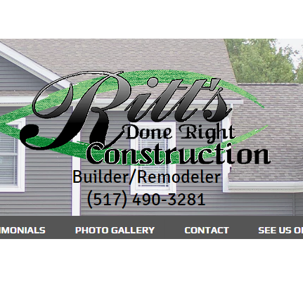 Ritts Done Right Construction Logo