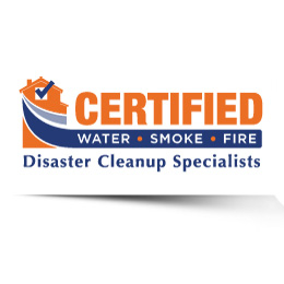 Certified Water, Smoke, & Fire Disaster Cleanup Specialists Logo