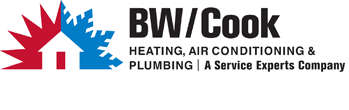 212 - BW/Cook Service Experts Logo