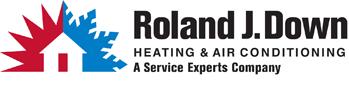 45 - Roland J. Down Service Experts Logo