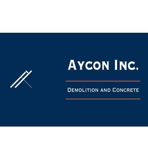 Aycon Inc Demolition Company Logo