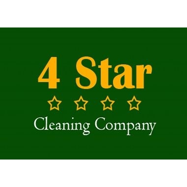 4 Star Cleaning Company Logo