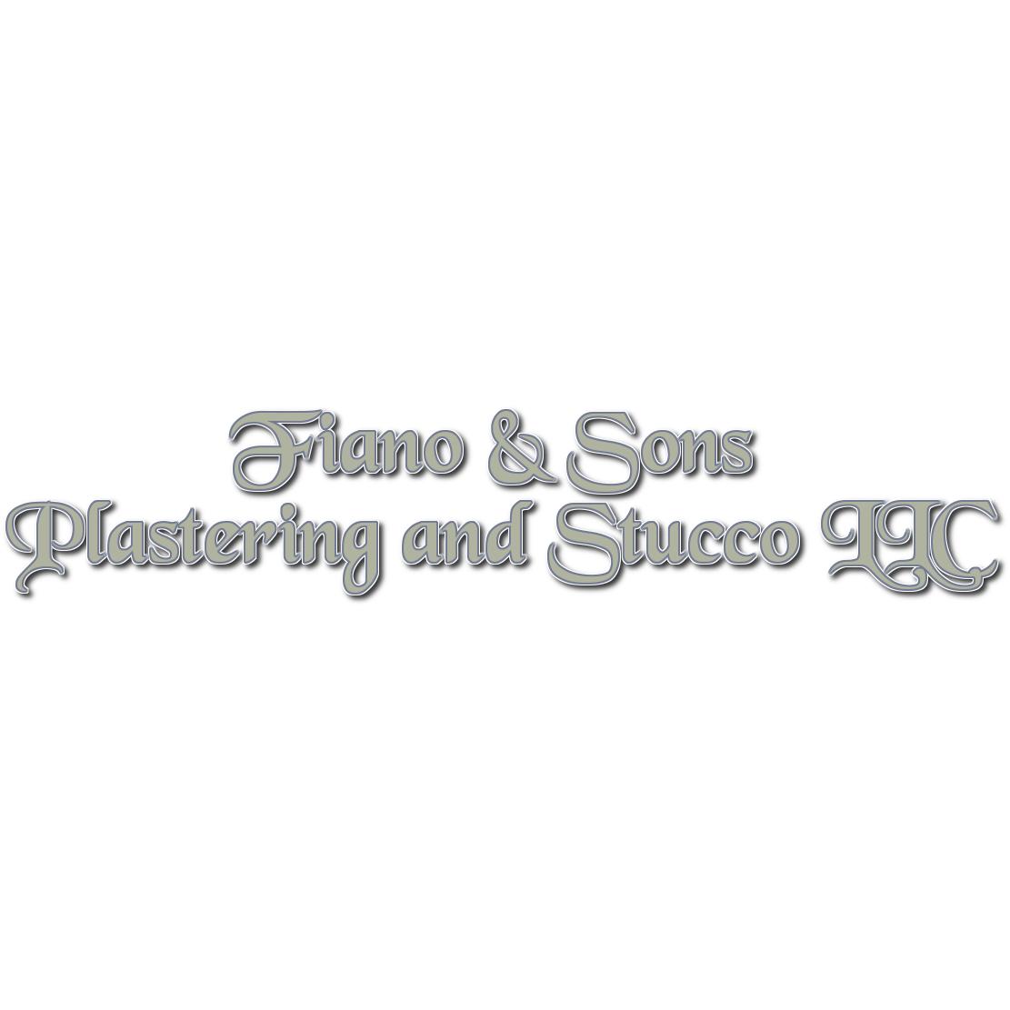 Fiano & Sons Plastering and Stucco LLC Logo
