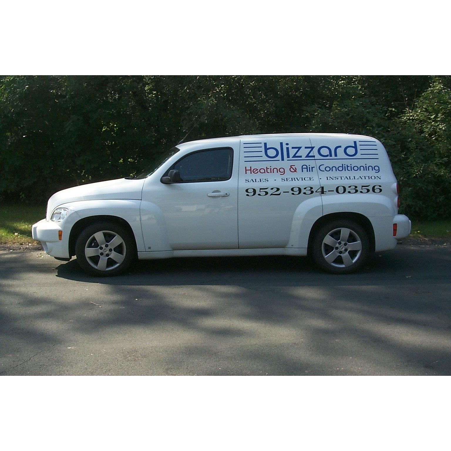 Blizzard Air Inc Logo