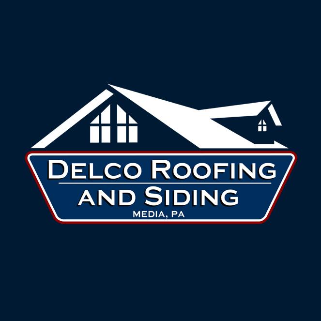 Delco Roofing & Siding Logo