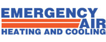 Emergency Air Heating and Cooling Logo