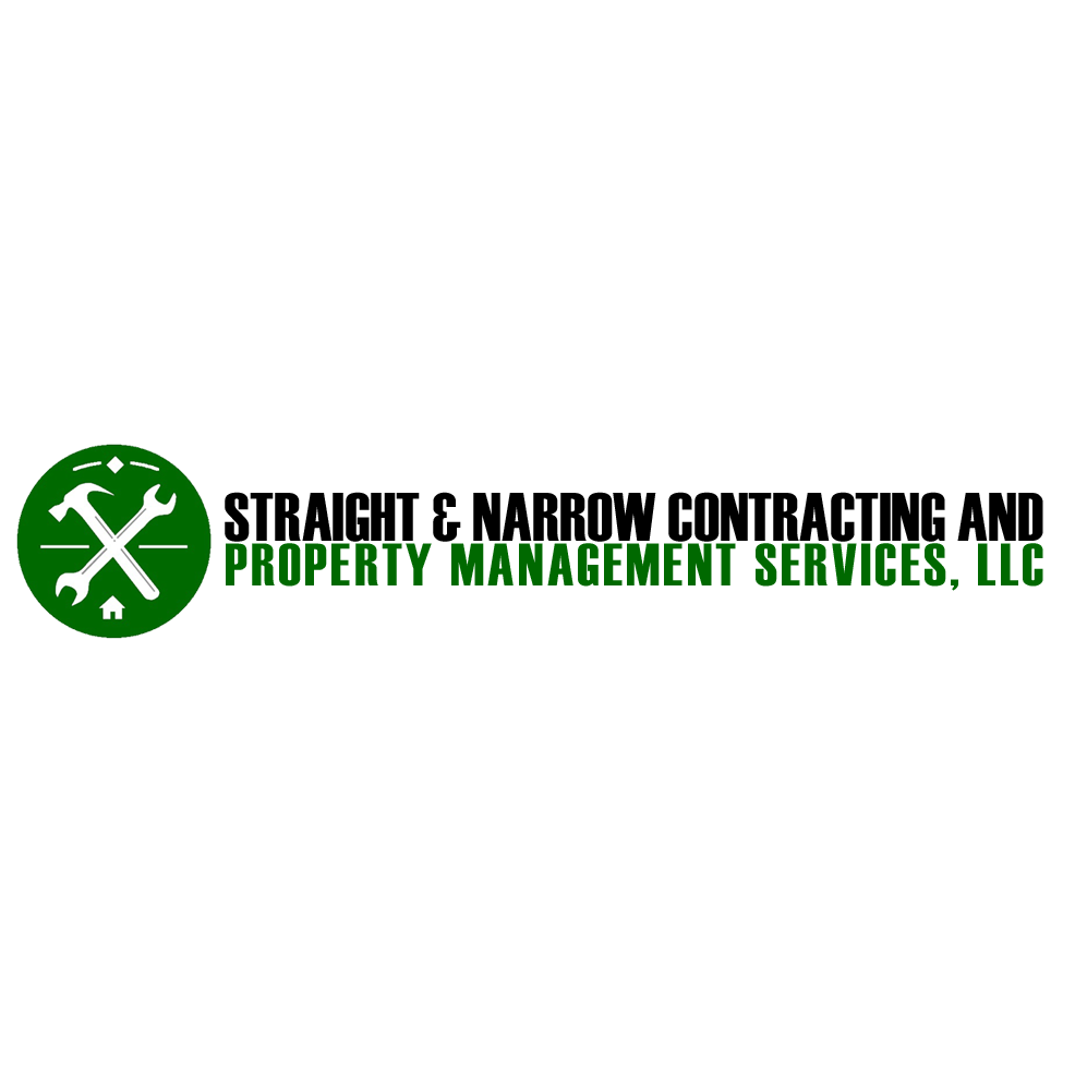 Straight & Narrow Contracting and Property Management Services Logo
