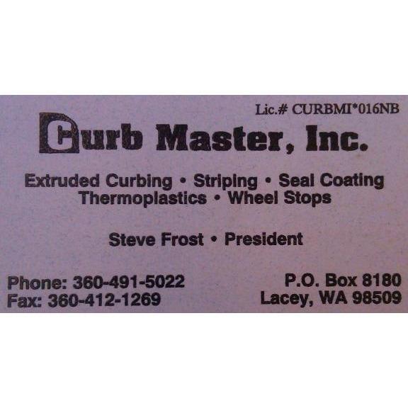 Curb Master, Inc. Logo