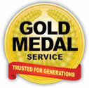 Gold Medal Service (Electricians) Logo