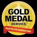 Gold Medal Service (HVAC) Logo