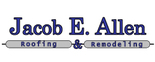 Jacob E Allen Roofing & Remodeling Logo