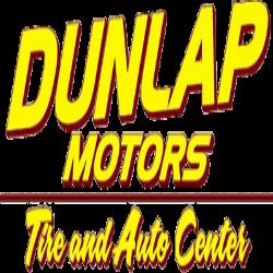 Dunlap Motors Tire and Auto Center Logo