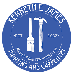 Kenneth E. James Painting & Carpentry Services Logo