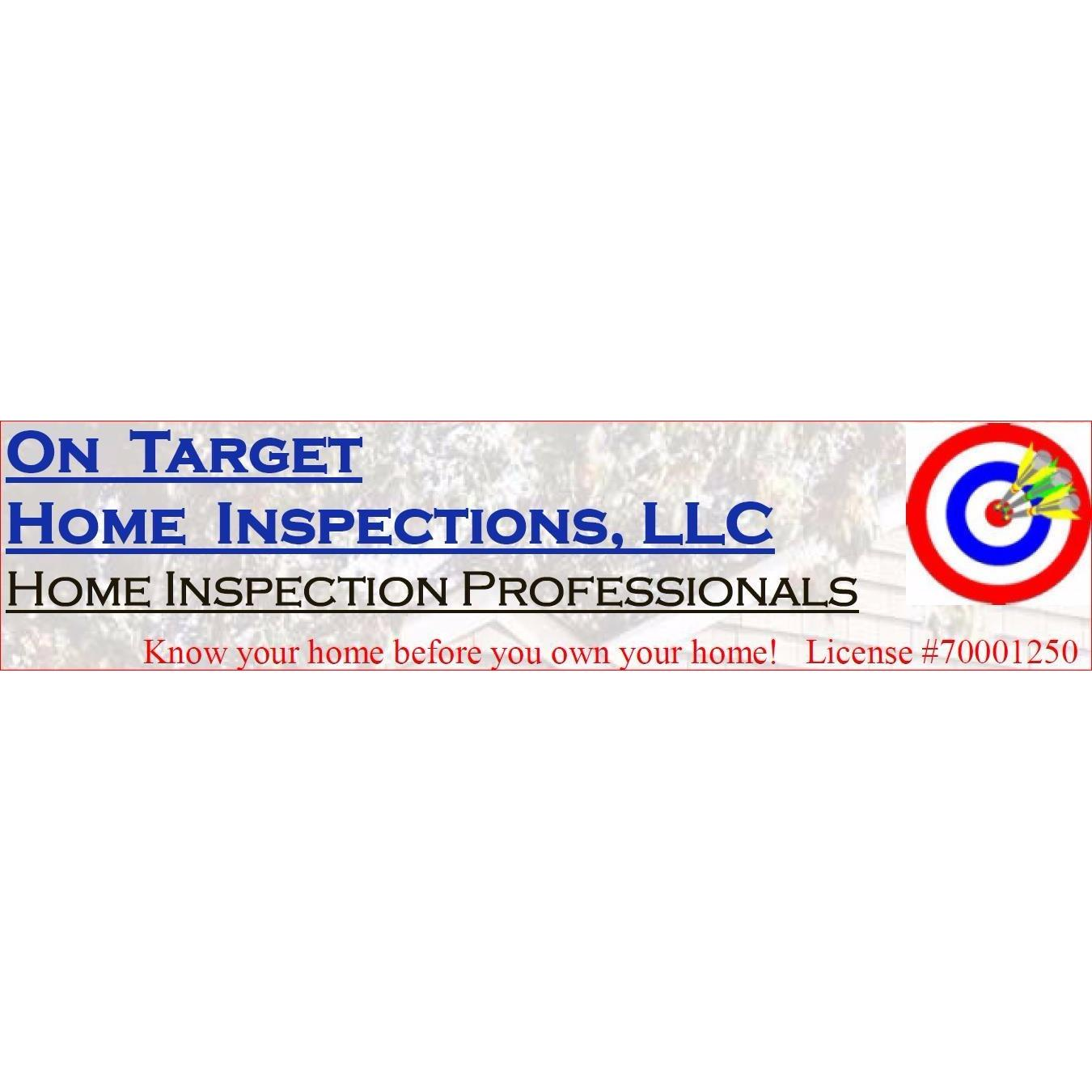 On Target Home Inspections Logo