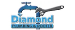 Diamond Plumbing and Rooter Logo