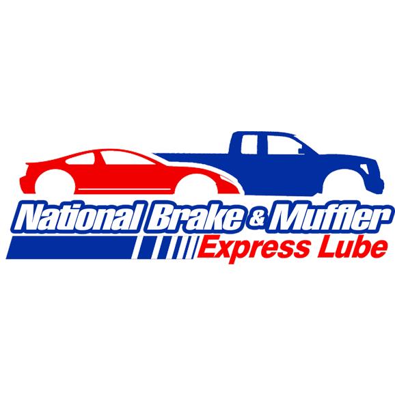 National Brake & Muffler Shop Logo
