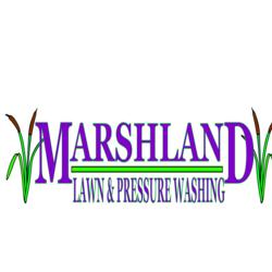 Marshland Lawn and Pressure Washing Logo