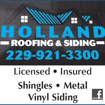 Holland Roofing & Siding Logo