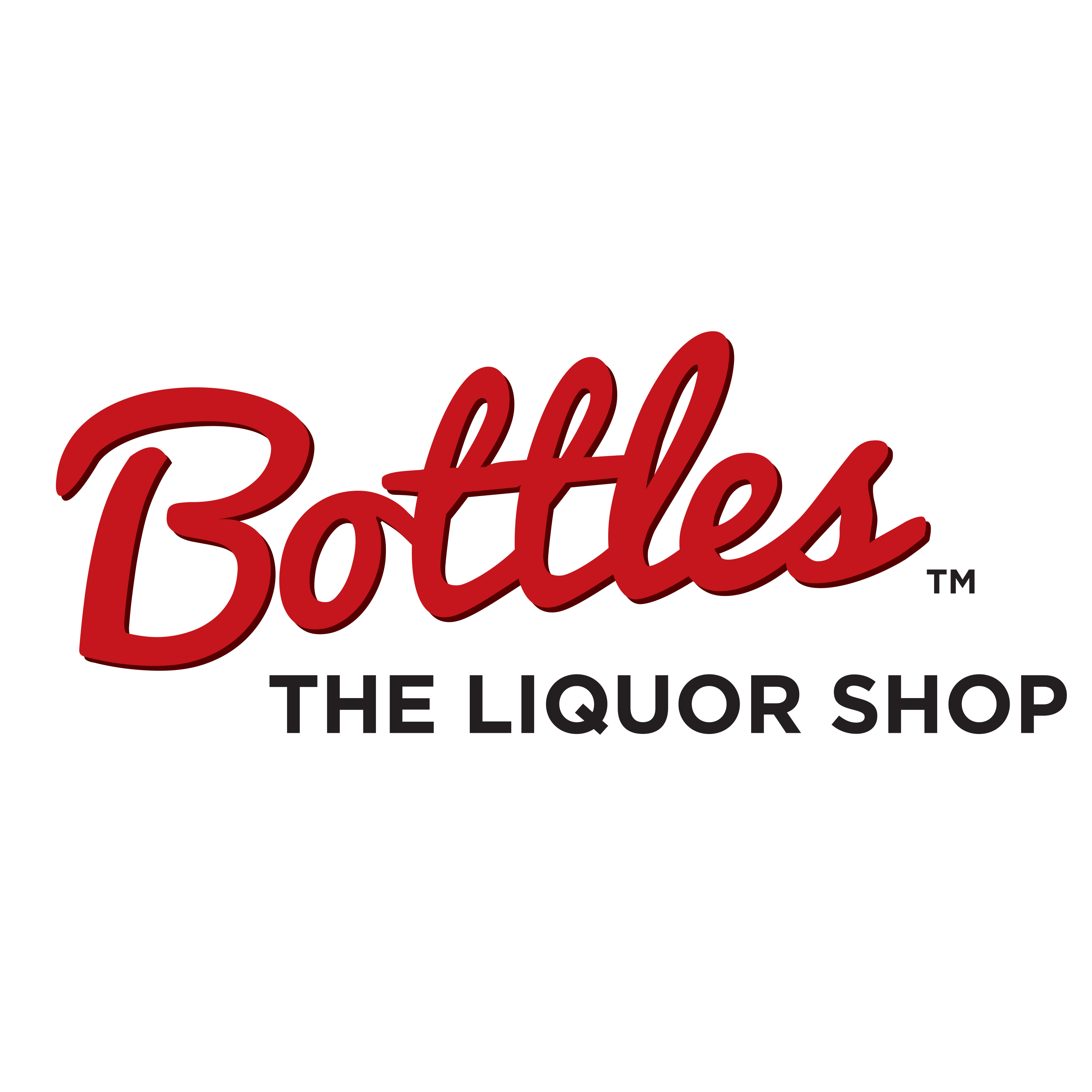Bottles The Liquor Shop Logo
