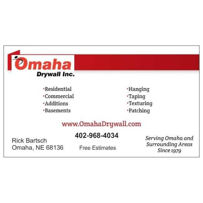 Omaha Drywall Inc Logo