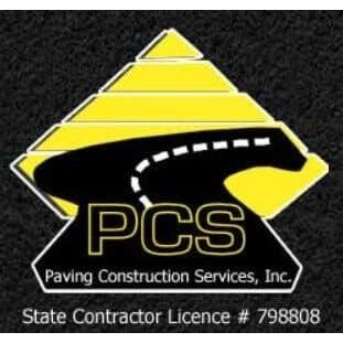 Paving Construction Services, Inc. Logo