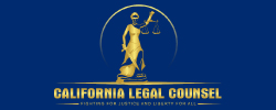 California legal counsel logo