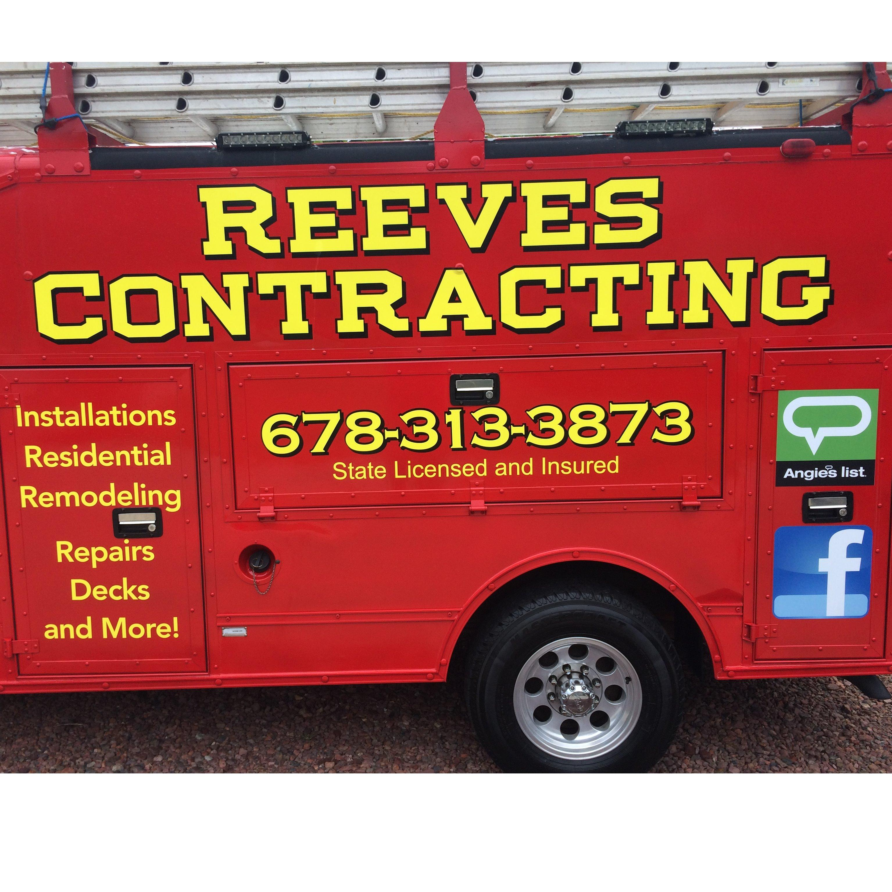 Reeves Contracting & Professional Pressure Washing Logo