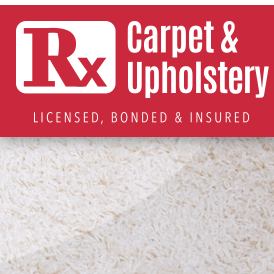 Rx Carpet and Upholstery Cleaning Services Logo