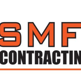 SMF Contracting & Overhead Door Logo