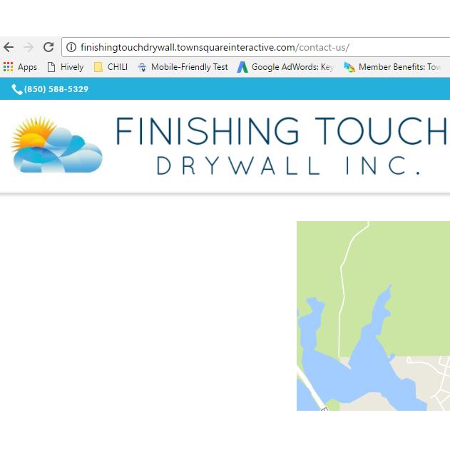 Finishing Touch Drywall Inc. Logo