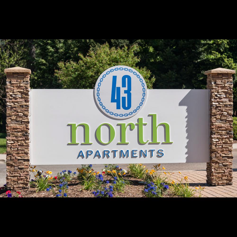 43 North Apartments Logo