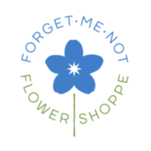 Forget-Me-Not Flower Shoppe Logo