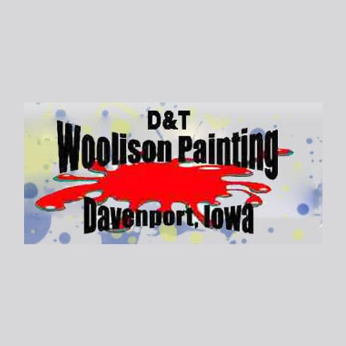 D&T Woolison Painting Logo