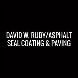 David W. Ruby/Asphalt Seal Coating & Paving Logo