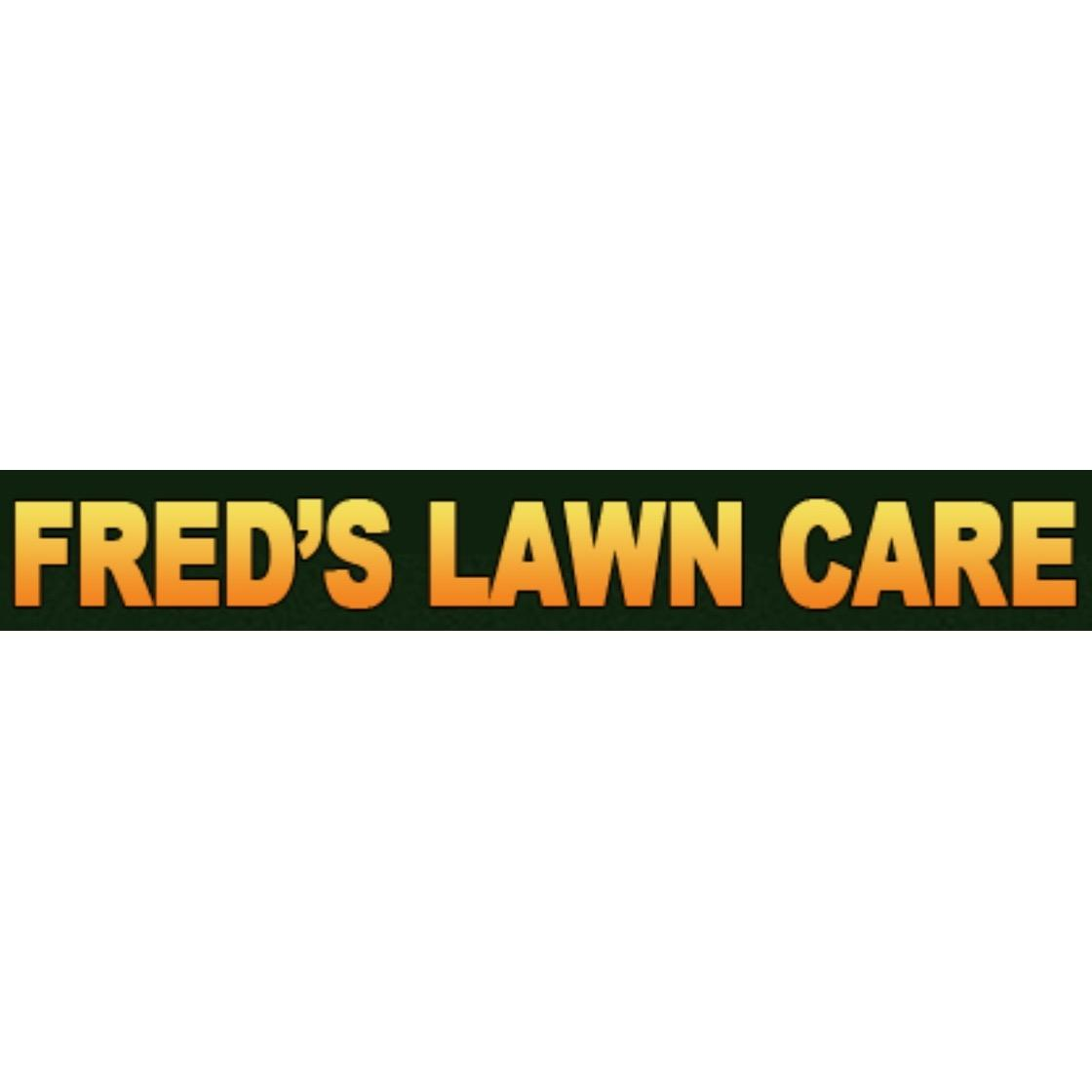 Fred's Lawn Care Logo