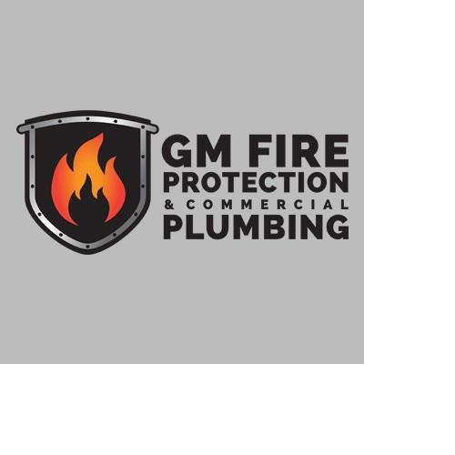 Gm Fire Protection And Commercial Plumbing Logo