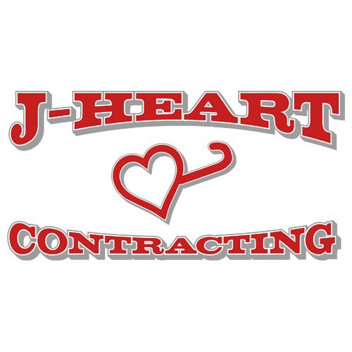 J-Heart Contracting Logo