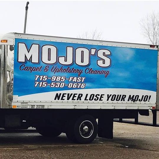 Mojo's Carpet & Upholstery Cleaning Logo
