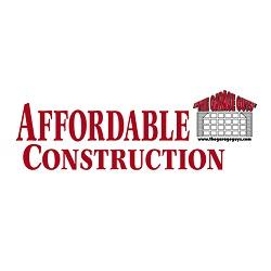 The Garage Guys at Affordable Construction Logo