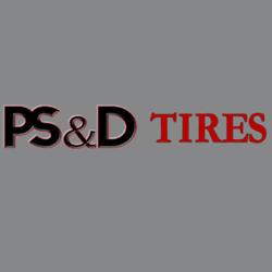 P S & D Tires Logo